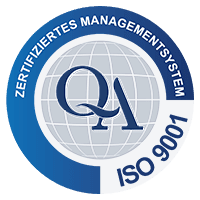 Qualitätsmanagement DIN EN ISO 9001:2015 Logo catworkx